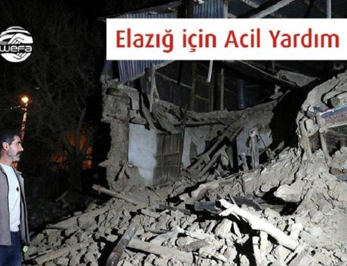 Elazığ Depremi Sonrası WEFA Ekibi Bölgeye Hareket Etti