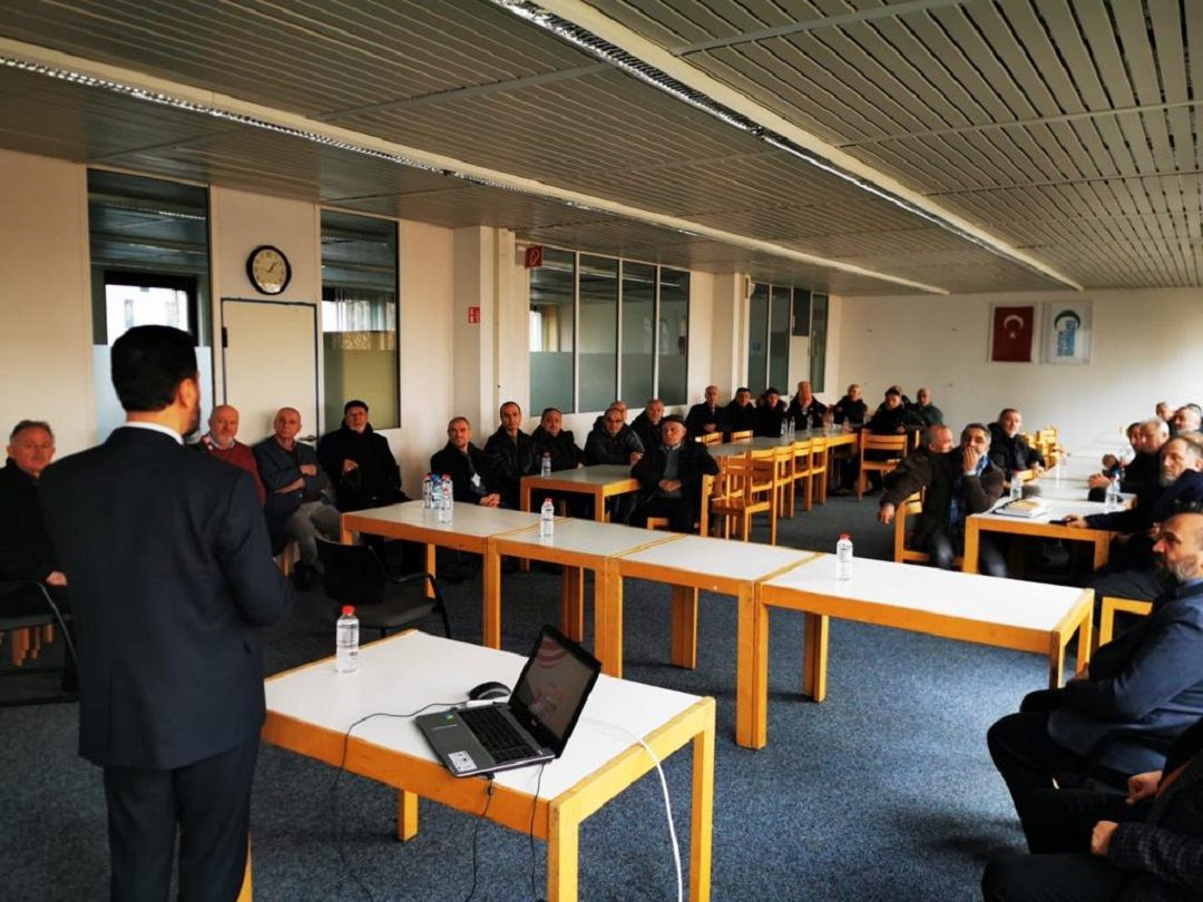 DIKZ - Alman İslam Kültür Merkezi'ni ziyaret eden WEFA Uluslararası İnsani Yardım Organizasyonu cami yetkilileriyle toplantı gerçekleştirdi.