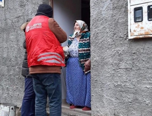 Bosna-Hersek'teki Mültecilere WEFA'dan Sıcak Yemek Yardımı