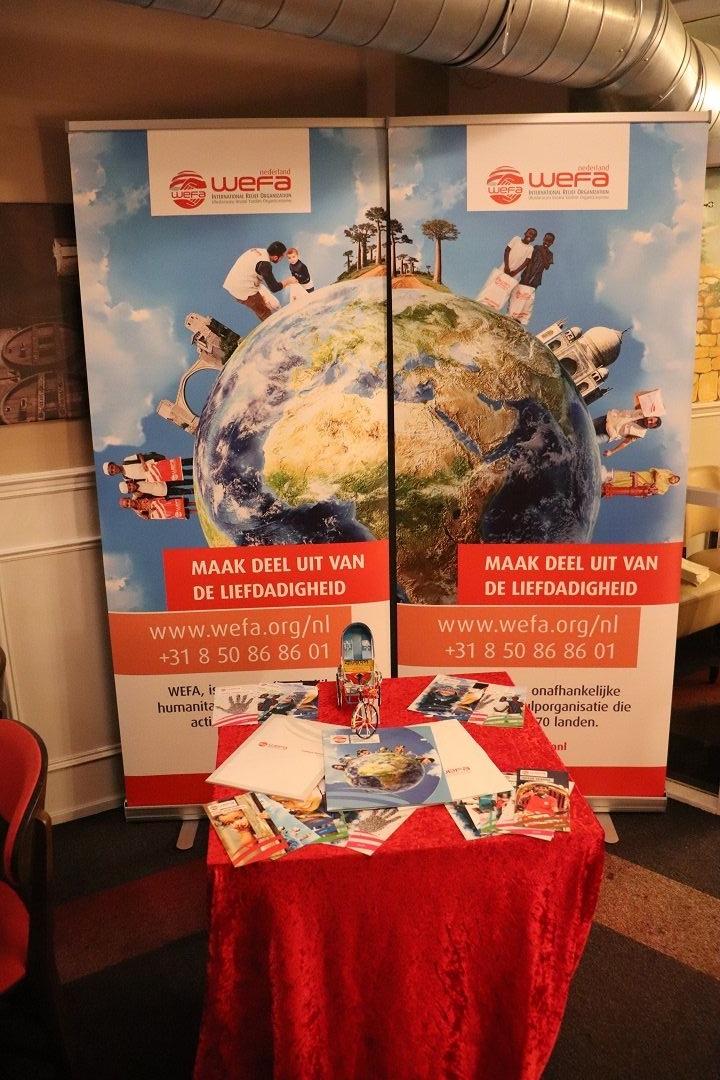 Bijeenkomst van WEFA Nederland op 25 januari