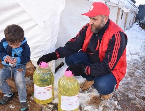 WEFA, Lübnan Arsal Kampı'ndaki Mültecilere Bu Yıl da Kış Yardımı Ulaştırdı