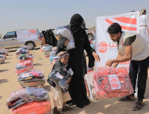 Yemen'e WEFA'dan Bu Yıl da Kış Yardımı
