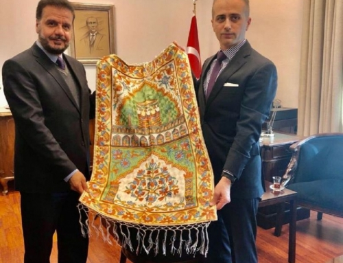 WEFA Heyetinden Başkonsolos Erciyes'e Ziyaret