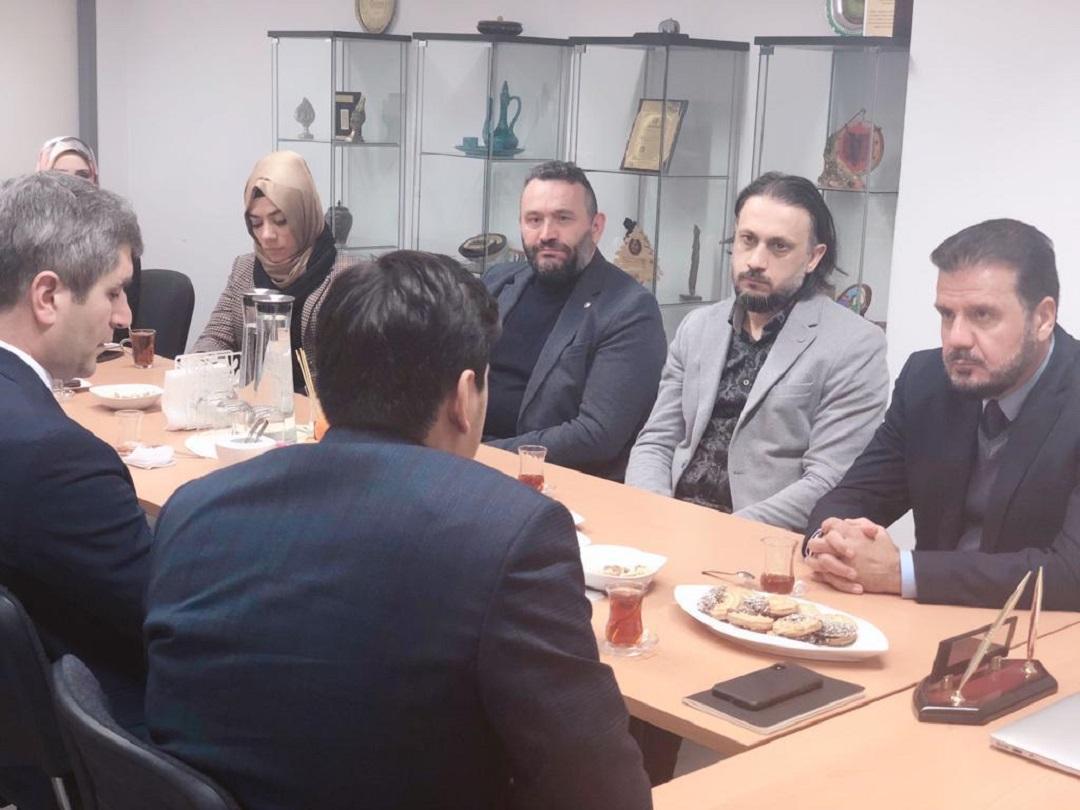 Yurtdışı Türkler ve Akraba Topluluklar Başkanı (YTB) ve beraberindeki heyet WEFA Uluslararası İnsani Yardım Organizasyonu Genel Merkezi'ni ziyaret etti.