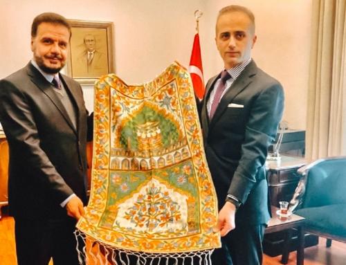 Besuch von der WEFA-Delegation beim Generalkonsul Erciyes