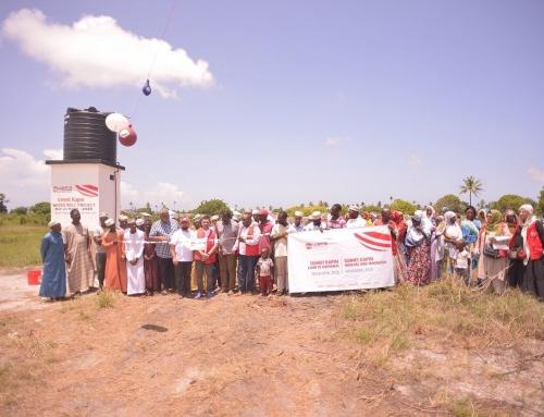 Moskee en madrasa geschonken door WEFA aan Tanzania