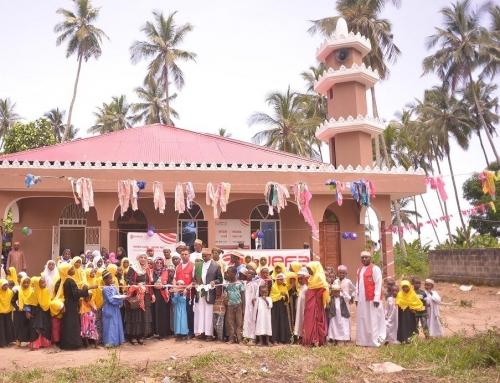 WEFA heeft een moskee en madrasa gebouwd in Tanzania