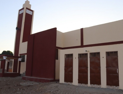 Nieuwe Moskee in Benin