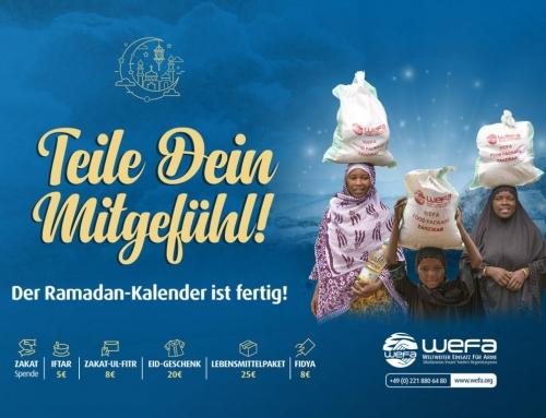 Ramadan Kalender 2020 – Sahoor und Iftar Zeiten