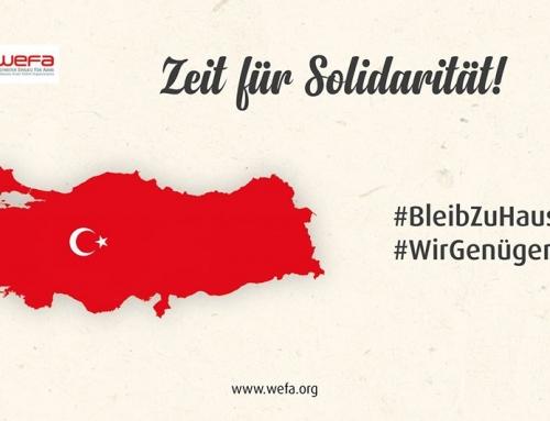 """Türkei: Hilfskampagne aufgrund des Coronavirus – """"Zeit für Solidarität!"""""""