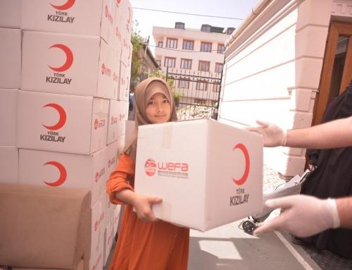 Ramadan-Hilfe vom Türkischen Roten Halbmond und WEFA in der Türkei