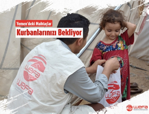 Yemen'e Kurban Bağışlarınızı Ulaştırıyoruz