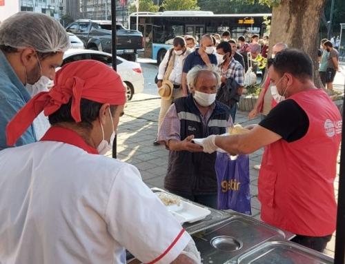 Sevap Tası Projesi: Türkiye'deki Evsizlere WEFA'dan Sıcak Yemek Yardımı