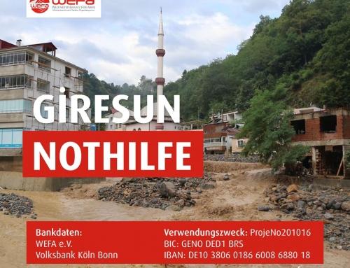 Türkei: Nothilfe für Giresun