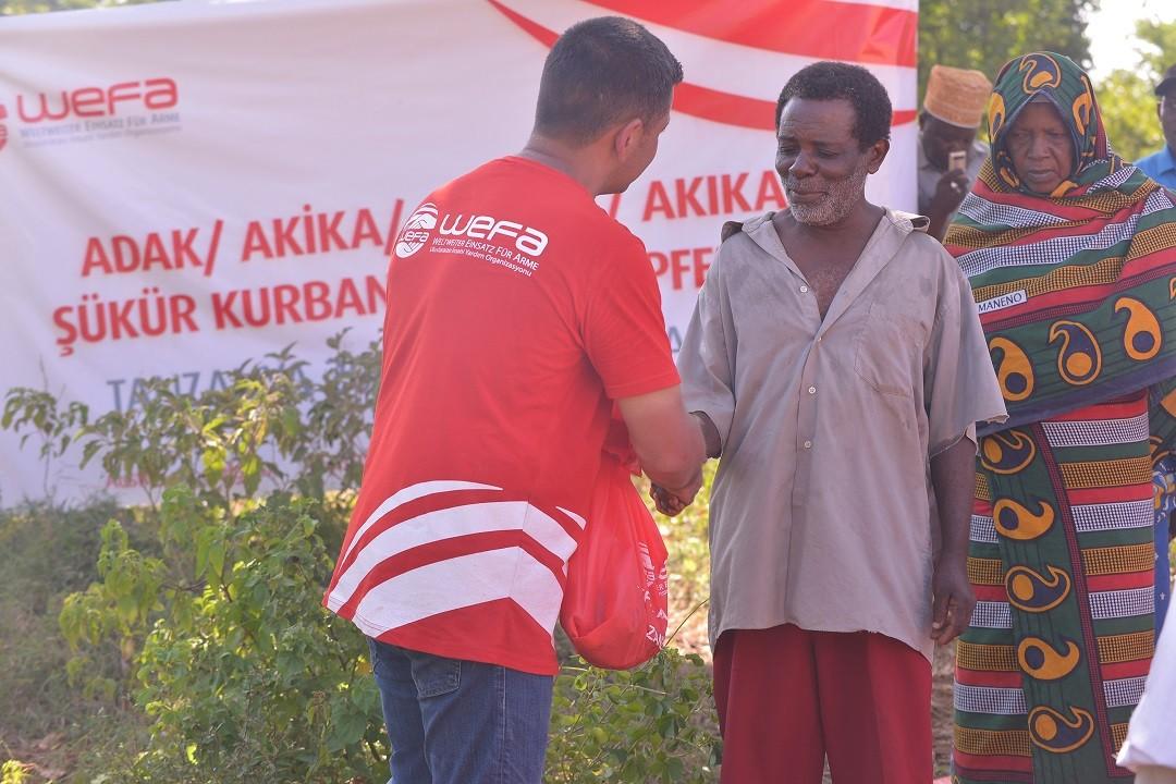 Kurban Bağışı ile muhtaçları mutlu edin -WEFA