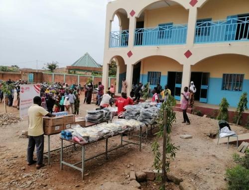 WEFA errichtet eine Schule in Westafrika