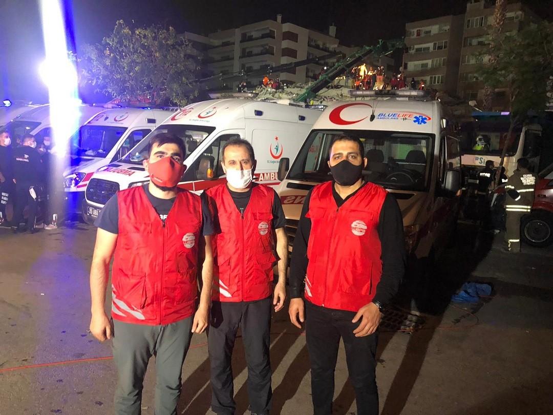 İzmir deprem yardım yapmak istiyorum