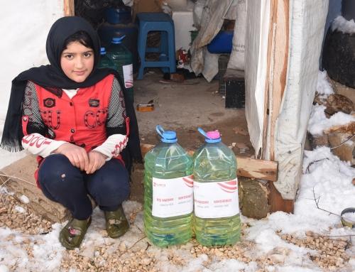 Lübnan Arsal Kampı: Suriyeli Mültecilere Kış Yardımı