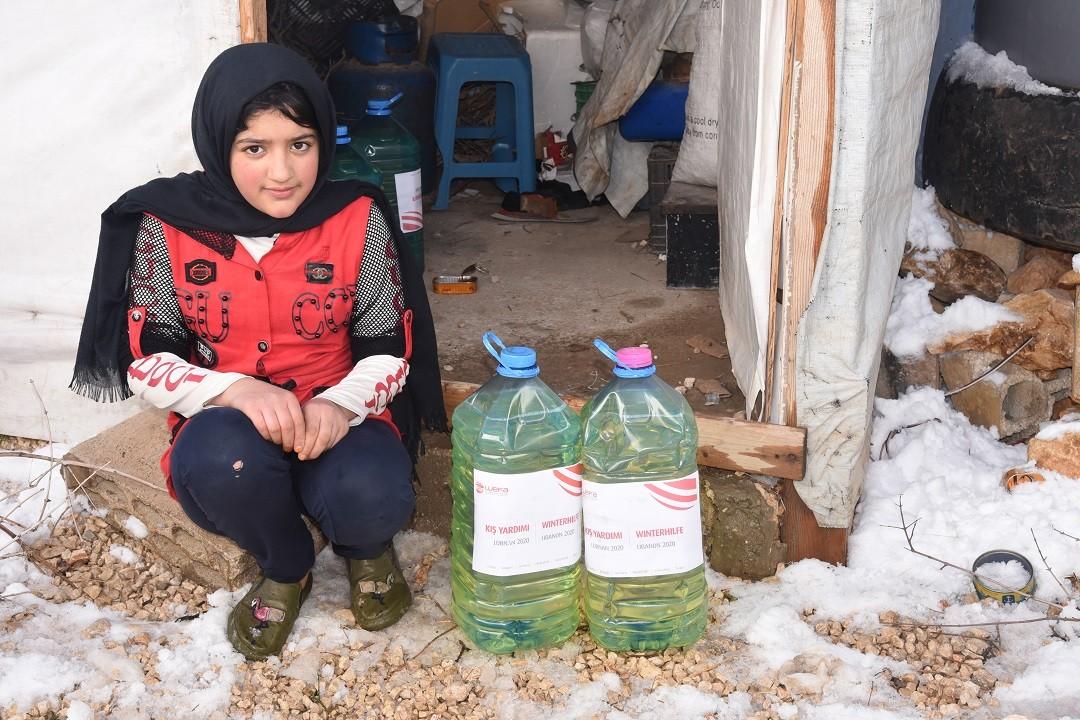 mültecilere kış yardımı