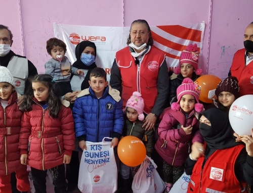 Avrupalı Hayırseverlerden İstanbul'daki Çocuklara Kış Hediyesi