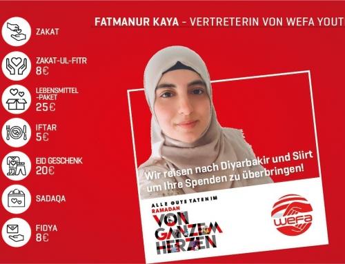 Ramadan 2021: Wir helfen in Diyarbakır und Siirt!