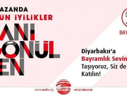 Diyarbakır'daki Yetimlere Bayramlık Hediye Ediyoruz