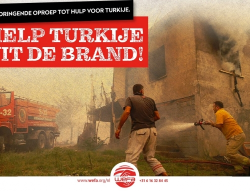Brand in Turkije: noodhulpcampagne van WEFA