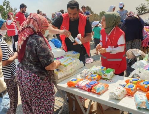 Helfende Hände für die Türkei von Menschen aus Europa