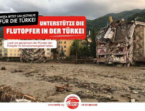 Überschwemmungen in der türkischen Schwarzmeerregion