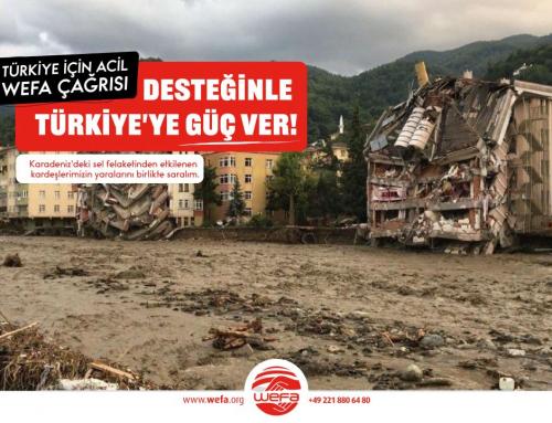 Batı Karadeniz'de Sel: WEFA'dan Acil Yardım Kampanyası