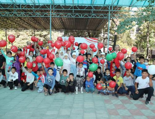 WEFA Kırgızistan'daki Yetim Çocuklarla Bir Araya Geldi