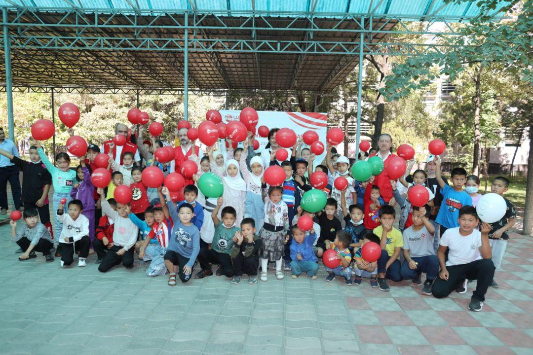 Kırgızistan yardım